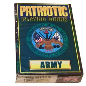 NEW Bicycle Patriot Playing Cards U.S. Army